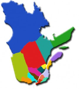 carte Quebec